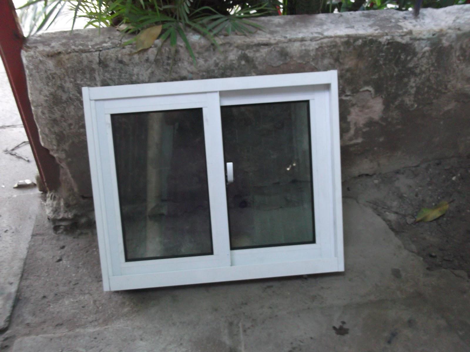 #51617A Esquadritec Serralharia: Janela de Alumínio Corrediça na cor branca 1694 Janela De Aluminio Na Cor Branca