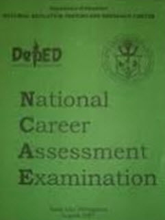 "Examination (NCAE) today, September 28, due to typhoon ""Pedring"