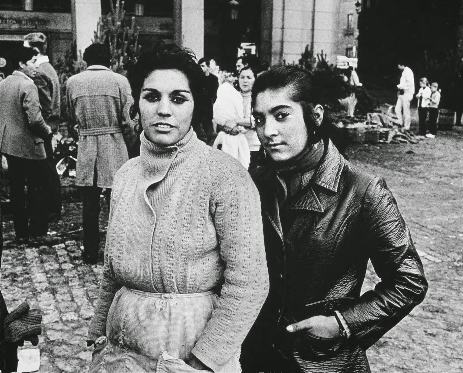 Navidad en Plaza Mayor de Madrid 1969