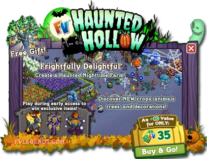 FarmVille Haunted Hollow Early Access