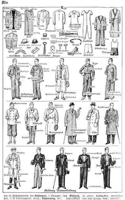 Backstube die mode anno 1935 for Katalog kleidung
