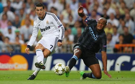 مشاهدة ملخص مباراة ريال مدريد ومانشستر سيتي 3/2 يوتيوب ملخص كامل دوري ابطال اوروبا 2012