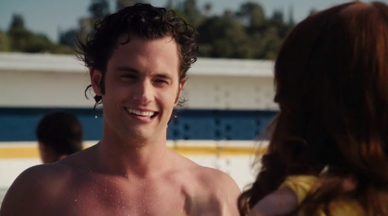 Penn Badgley Shirtless in Easy A