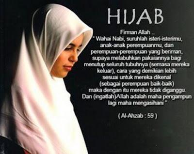 Perintah menutup aurat dalam Islam