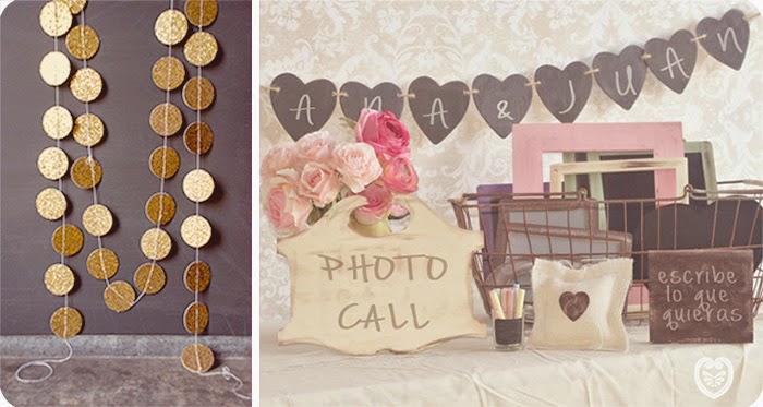 Un photocall low cost y diy - Photocall boda casero ...