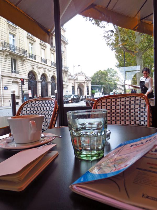 Kaffe i Paris