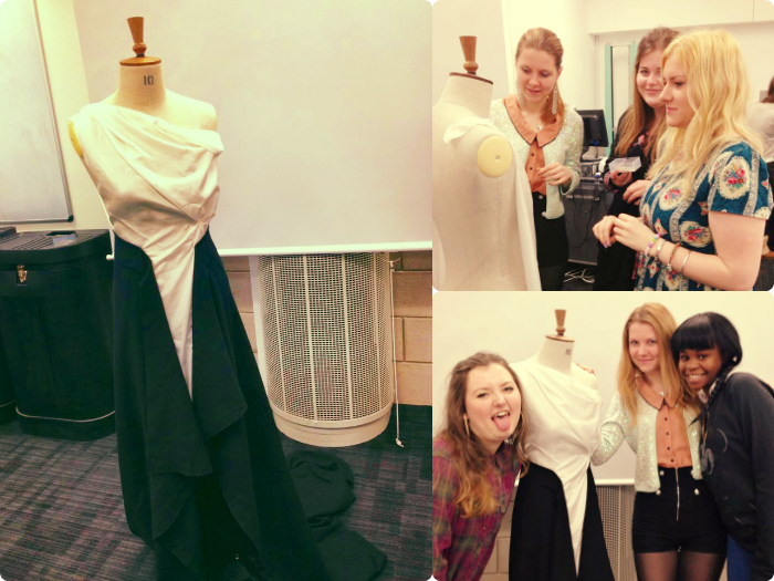 robert gordon university, making a dress, fashion management