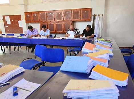 مسابقة توظيف الأساتذة  مارس 2015 غير معنية بالالغاء