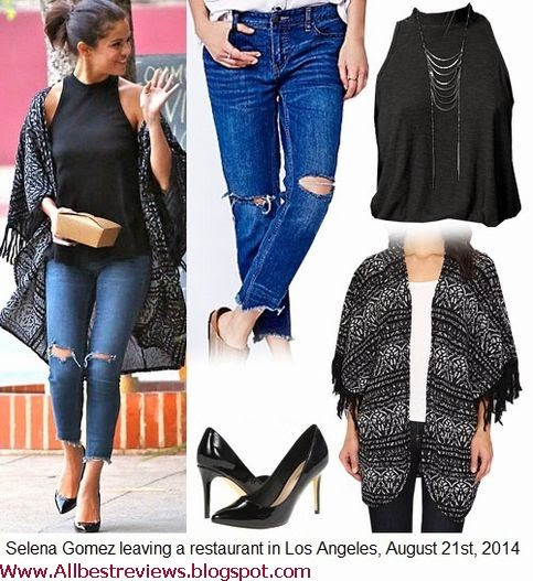 selena gomez street fashion style pictures 2014 best