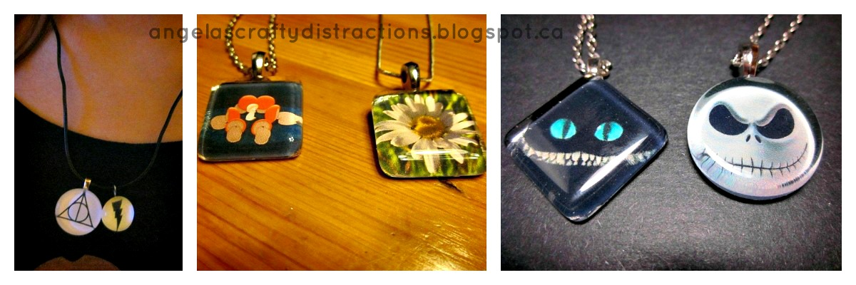 Crafty distractions how to make a glass tile pendant how to make a glass tile pendant aloadofball Image collections