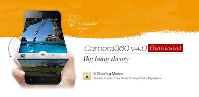 Camera360 Ultimate Aplikasi Kamera Android Terpopuler