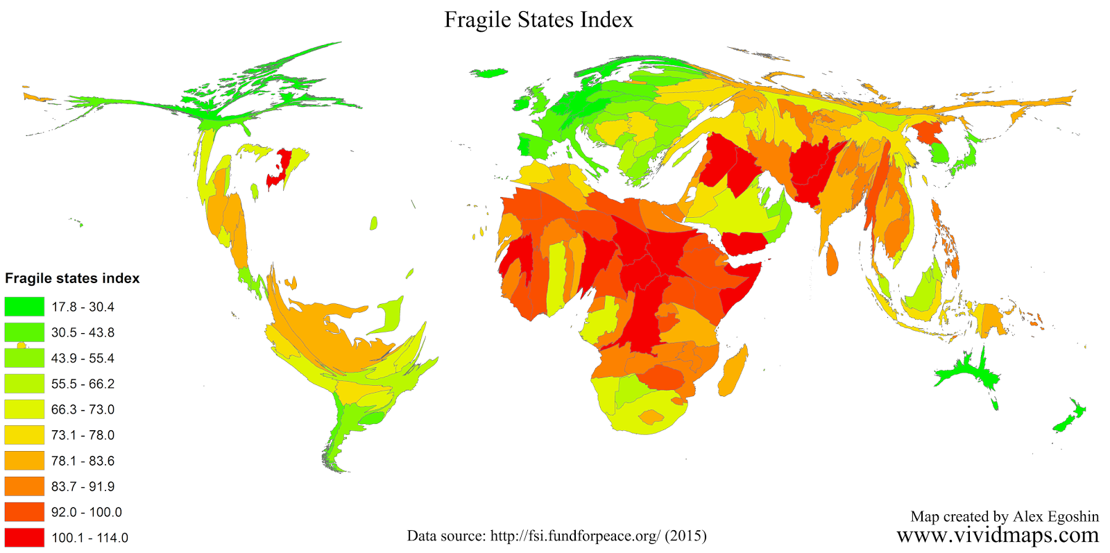 Fragile States Index (2015)