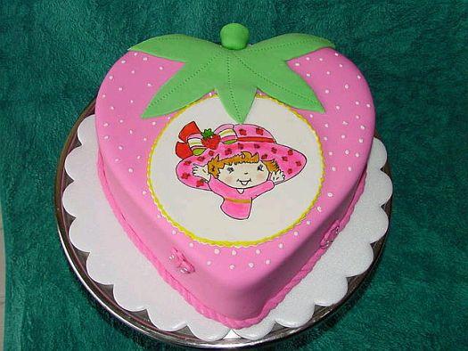 MuyAmeno.com: Tortas de Fresitas para Fiestas Infantiles