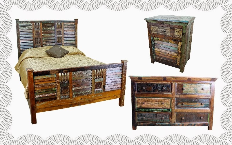 Reece Wells Create A Pleasurable Look With Mexican Bedroom Furniture