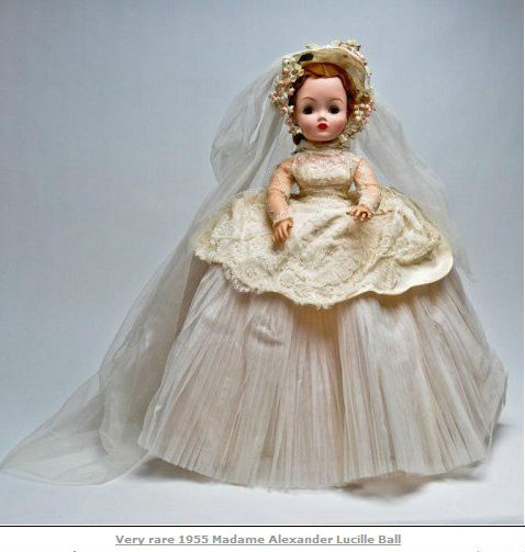 1955 Bride Doll http://everythinglucy.blogspot.com/2012_07_01_archive.html