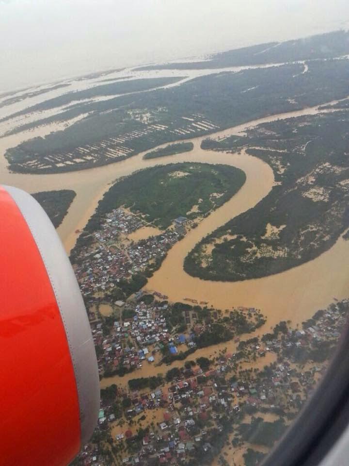 Gambar Banjir Buruk Di Kelantan Disember 2014