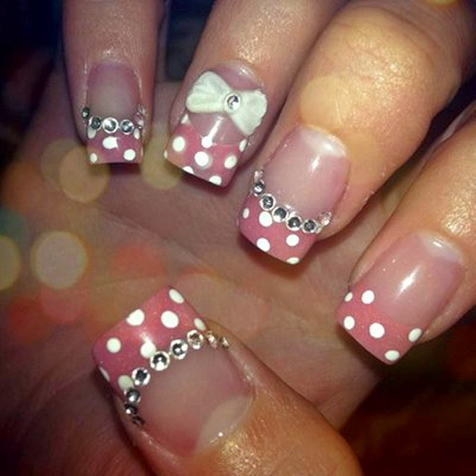 Acrylic nail designs nail art and tattoo design ideas for Acrylic nail decoration