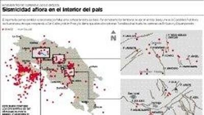 Terremoto en Costa Rica activo 16 fallas peligrosas
