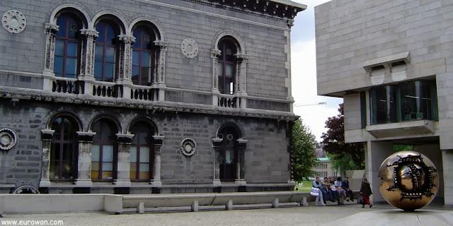 Campus del Trinity College de Dublín