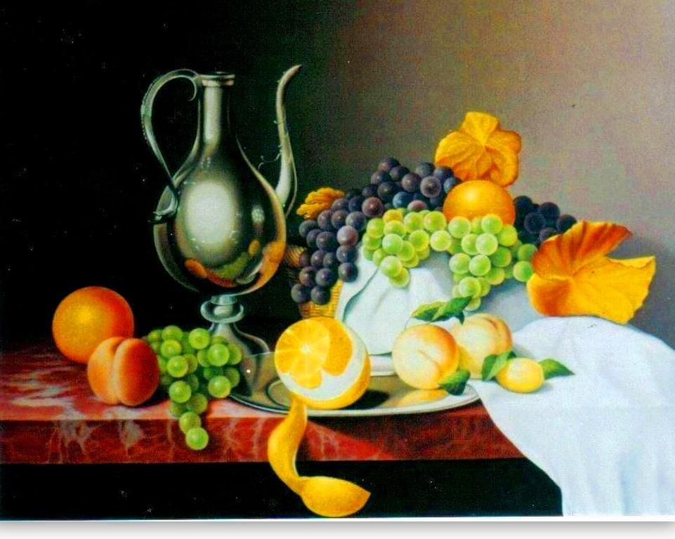 Im genes arte pinturas cuadros bodegones frutas - Cuadros bodegones modernos ...