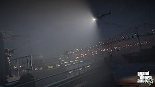 Grand Theft Auto V  helicopter light