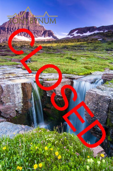 logan pass triple falls closed