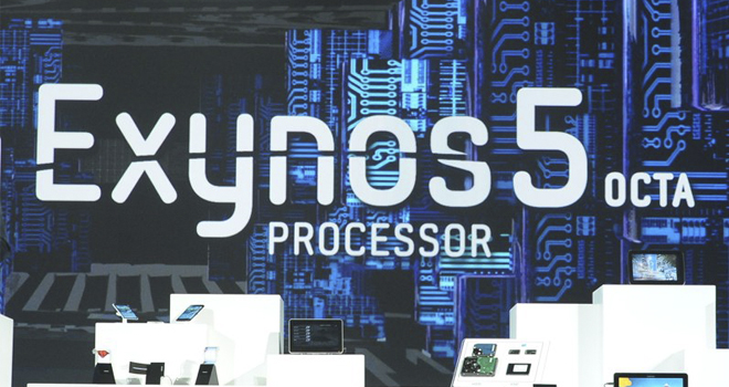 samsung exynos5 eight core processor