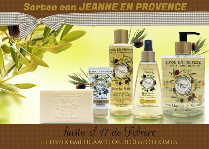 """Sorteo de """"Divine Olive"""" de JEANNE EN PROVENCE"""