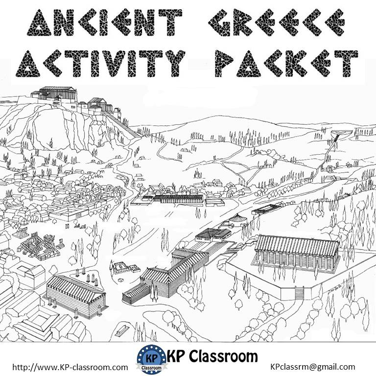 KP Classroom October 2015 – Ancient Greece Worksheets