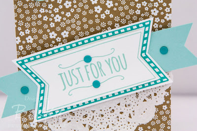 You're So Sweet Gift Bag Made With The New Stampin' Up! Gift Bag Punch Board - Get It Here from 2 June