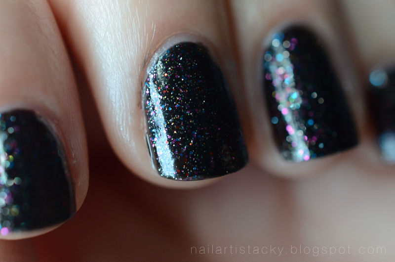 Butter London Black Knight Swatch
