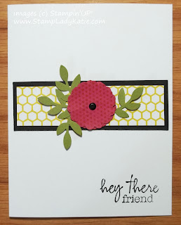 Card made with stamps from Stampin'UP!'s My Paper Pumpkin monthly craft kits.