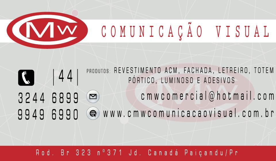 CMW Comunicação Visual em Paiçandu