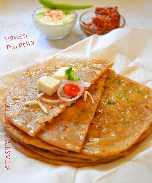 Paneer Paratha: