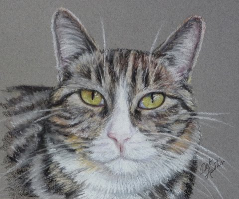 Miss Mia (pastels) - sold