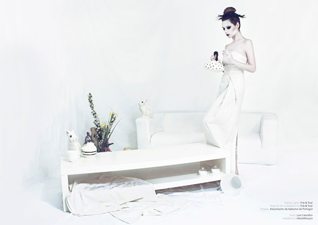 Hana no Hana, Trend me too, Fashion Editorial, Ikebana, Editorial