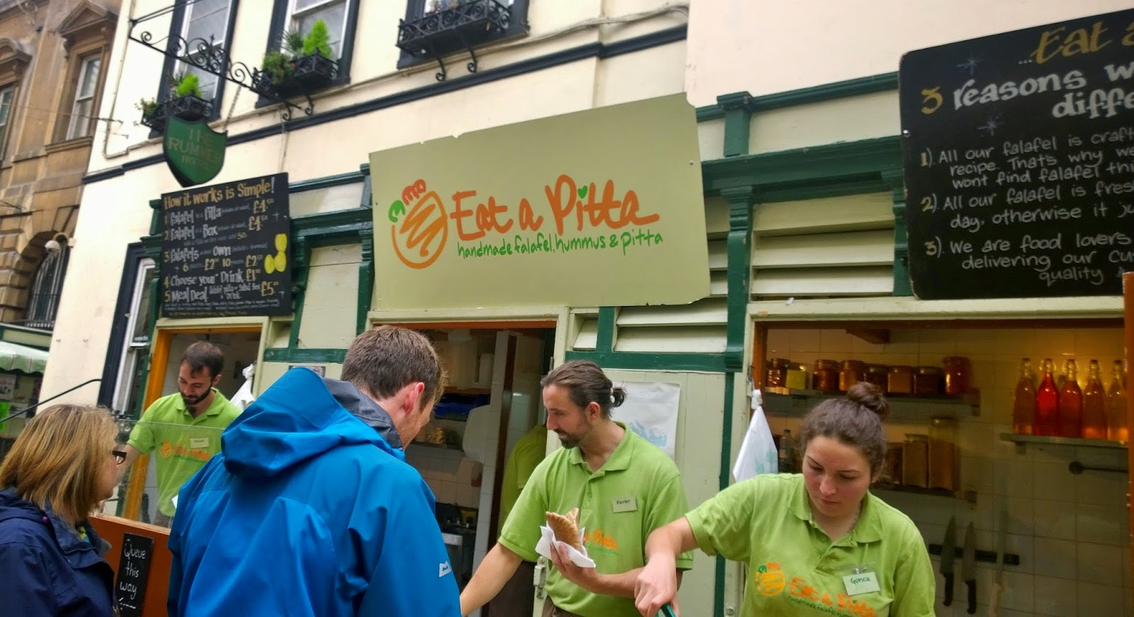 Eat a Pitta Bristol