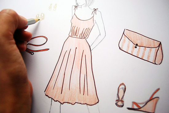 The Simplest Way to Draw Fashion Sketches - wikiHow 71