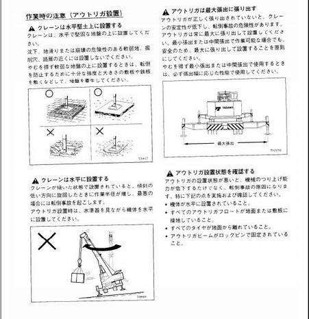 Free Automotive Manuals: Tadano Tr-160M-3 Operation Manual