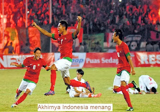 Akhirnya Indonesia Menang Piala AFF 2013