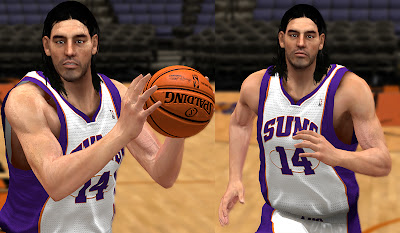 Description: This NBA 2K13 patch adds an enhanced cyberface for Luis