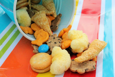 Kid-Friendly Trail Mix - a sweet and salty summertime snack for the family