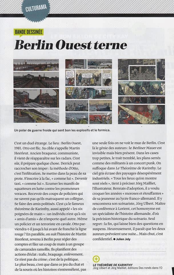 Le Mensuel de Rennes mars 2014 - Le théorème de Karinthy