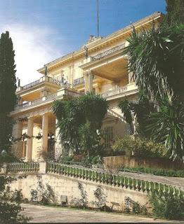 Aquileon. El palacio que se hizo construir en las Islas griegas