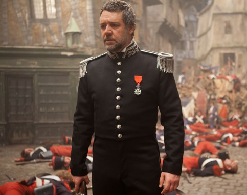 Javert with the dead Les Misérables (2012) movieloversreviews.blogspot.com