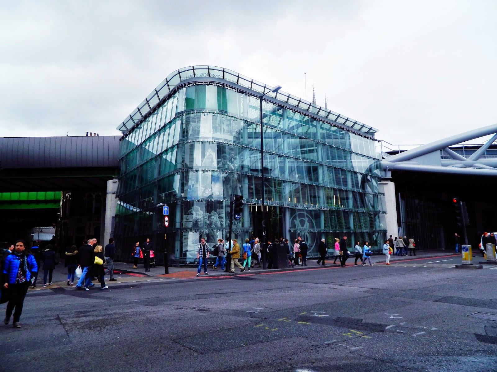 borough market glass outside architecture