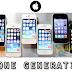 Difference between iphone generations الفرق بين جميع اصدارات الايفون فى الشكل والامكانيات