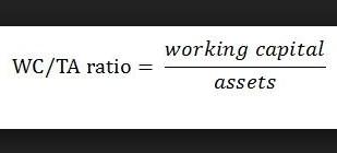 Pengertian Working capital to total assets ratio