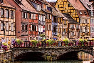 Эльзас - достопримечательности, города, путеводители, описания, карты, маршруты