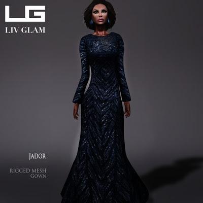 [LIV-Glam] free mesh dress